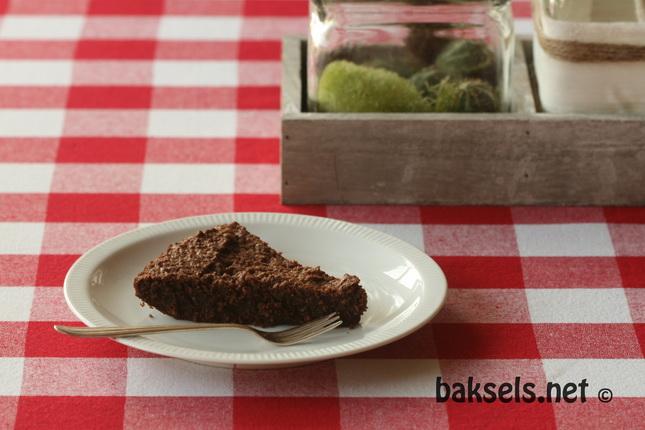 Zweedse chocoladetaart