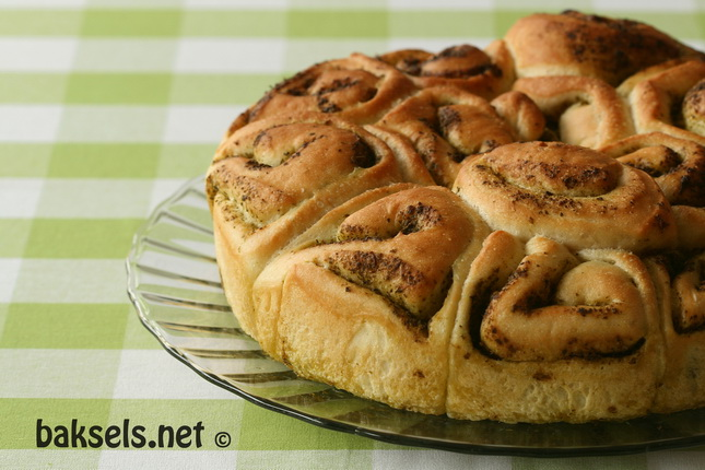 Pesto-breekbrood
