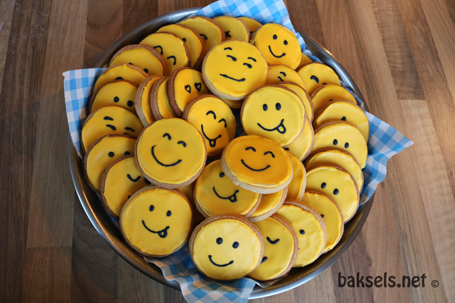 Smiley koekjes