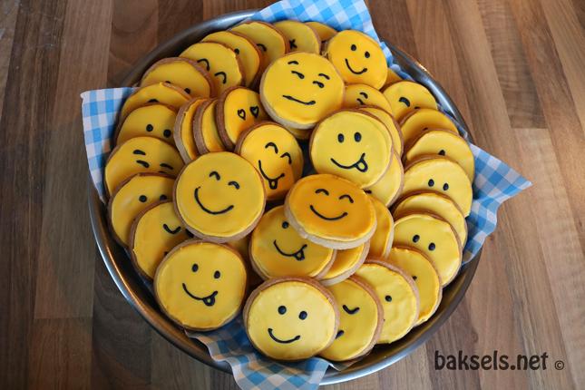 smiley koekjes - baksels