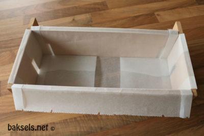 houten bakvorm krententwegge