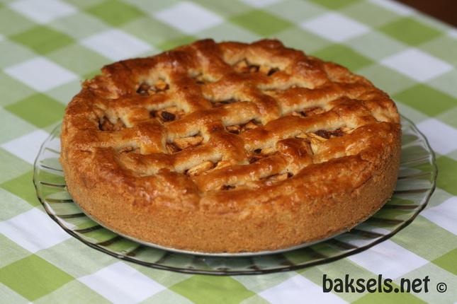 appeltaart recept springvorm 26 cm