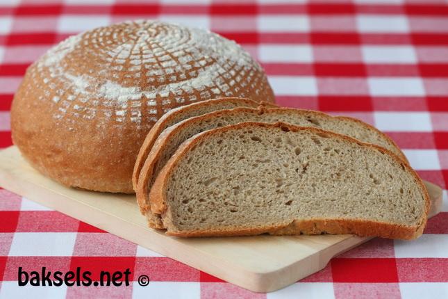 brood bruin korstje